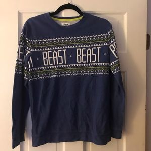 Other - Boys holiday BEAST sweater from Old Navy, size XXL